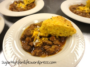 LBJ Perdenales River Chili with Jalapeno Cornbread